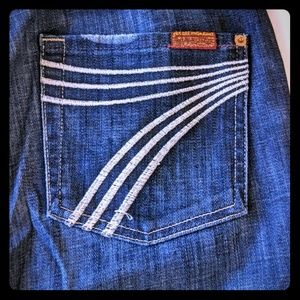 7 For All Mankind size 27 Dojo jeans